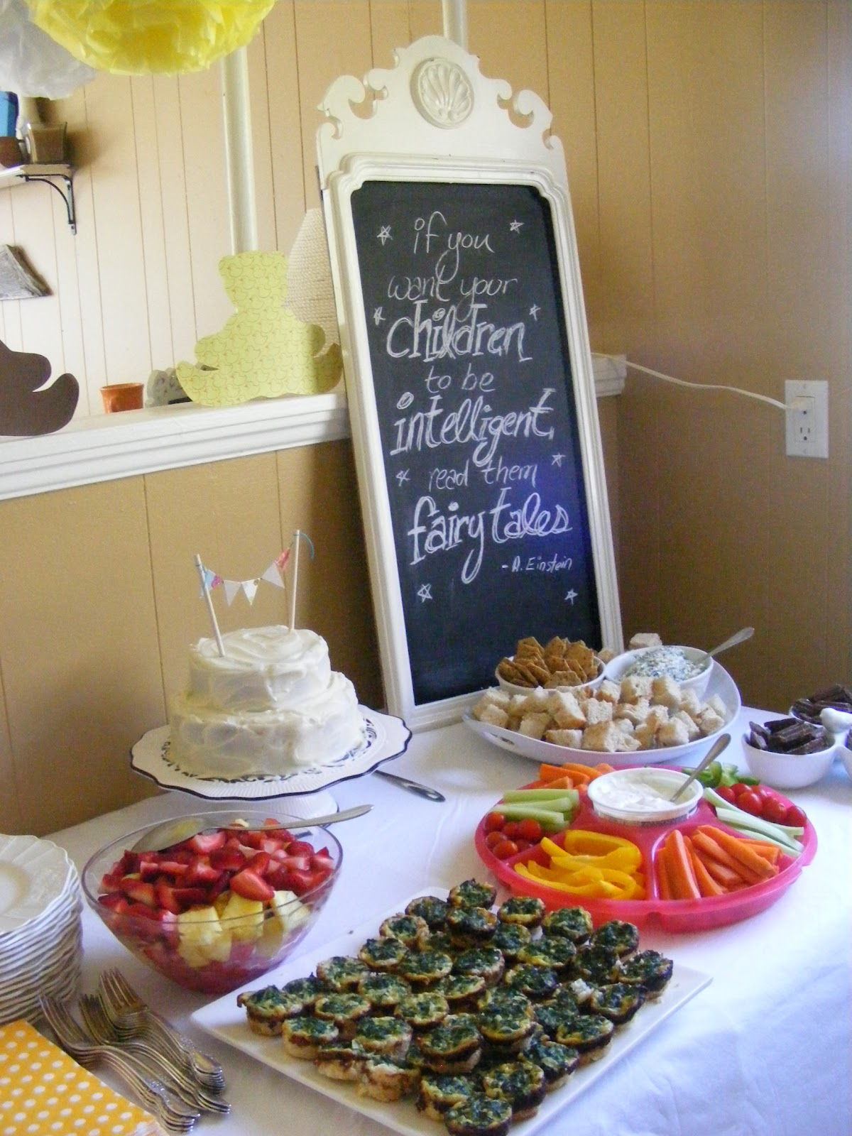 The plete Guide to Imperfect Homemaking A Storybook Baby Shower
