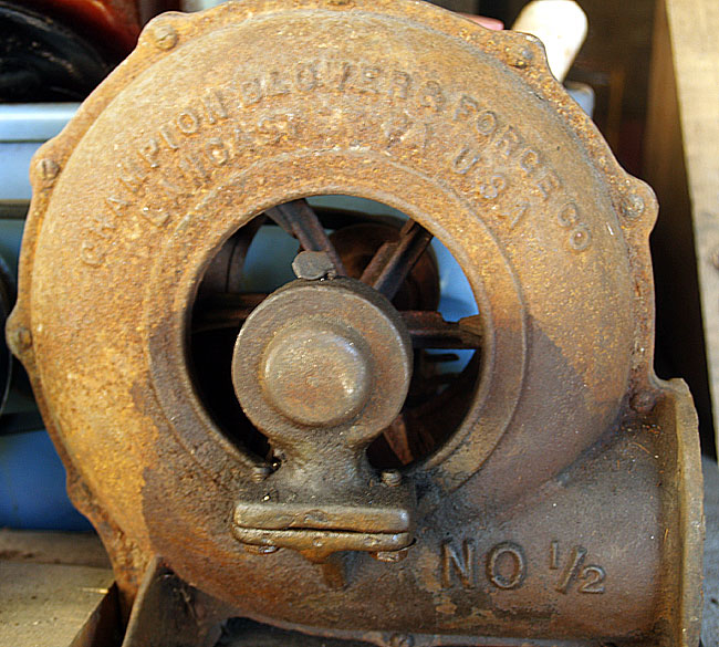 Blower Supercharger For Sale: Hammered Out Bits: Forge Blowers For Sale