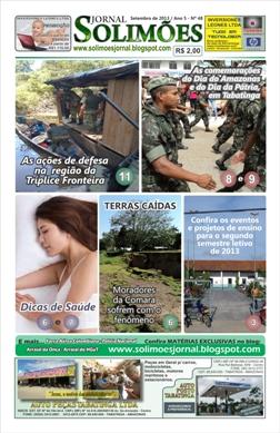 Capa Edição nº 48 Setembro/2013