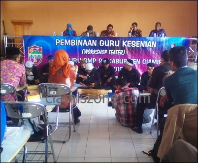 Guru Kesenian se-Kabupaten Ikuti Workshop Teater
