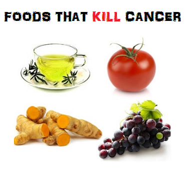 Foods that kill cancer and help the body destroy tumours without any
