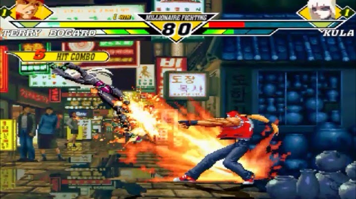 Jogo King of Fighters Mugen