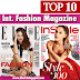 Top 10 International Lifestyle and Fashion Magazine | World's Best Fashion Magazines