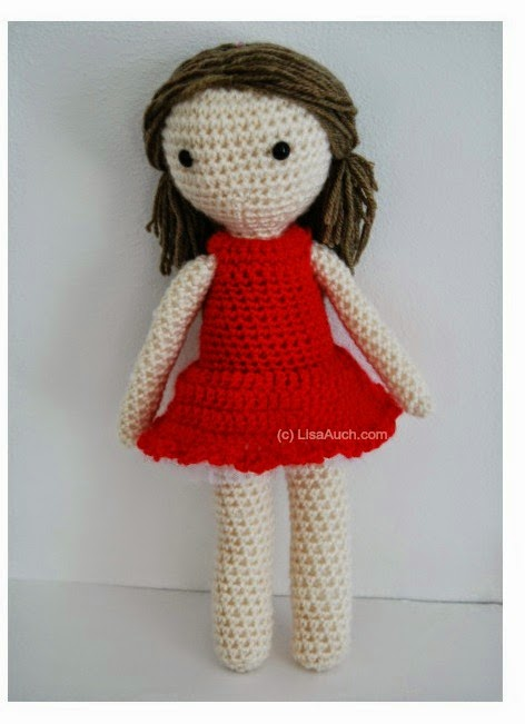 Crochet Hair Doll : How to Crochet Dolls Hair (easy) Free Crochet Patterns and Designs ...