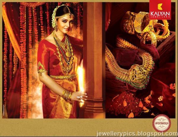 Aishwarya Rai South Indian Antique Bridal Jewellery Kalyan
