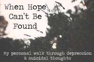 When Hope Can't Be Found
