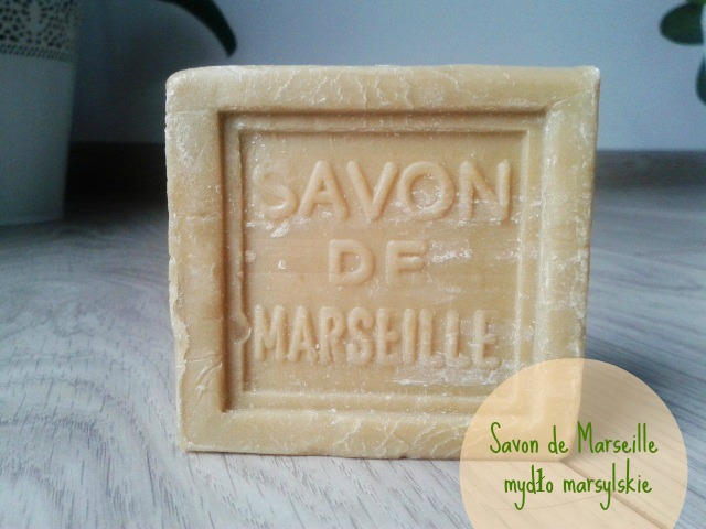 Savon de Marseille - oliwkowe mydło marsylskie.
