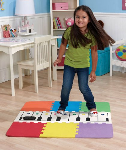 Large Floor Foot Piano Keyboard Mat For Kids