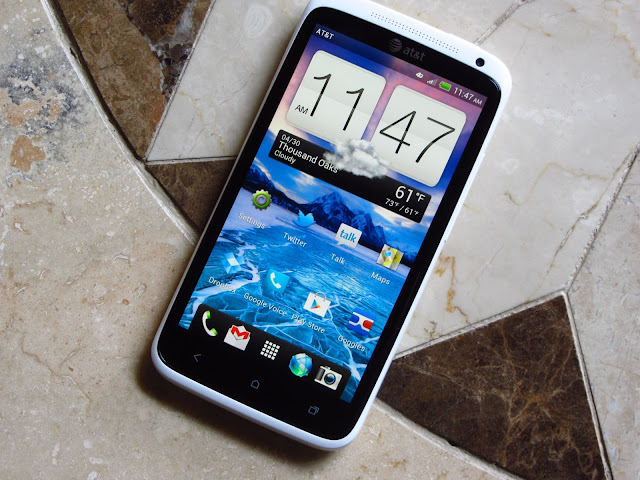 HTC One Xl display