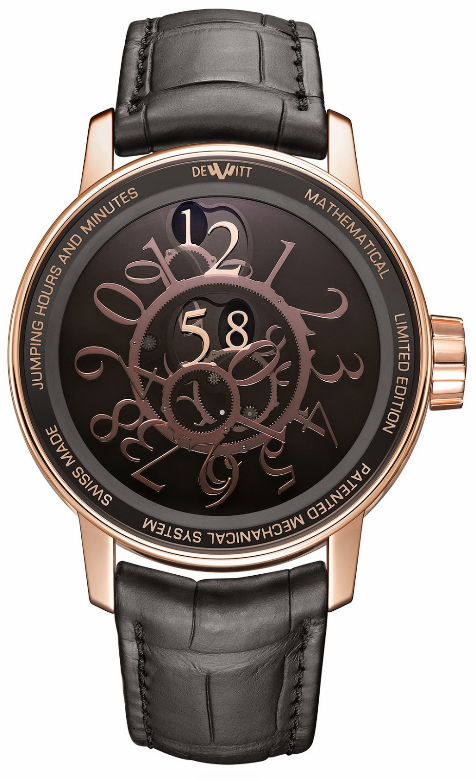 Montre DeWitt Academia Mathematical