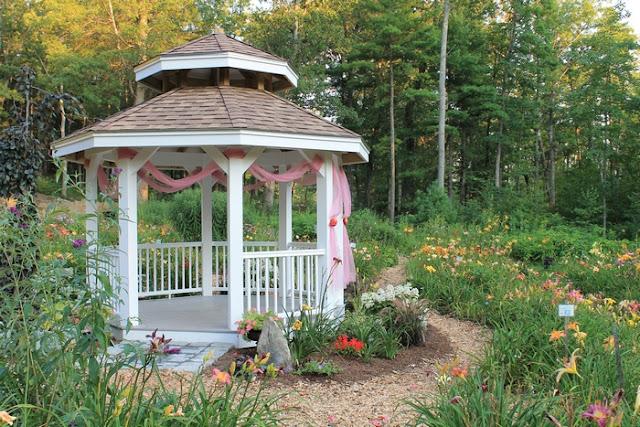 Backyard Farmers And Home Gardeners : Two Men and a Little Farm INSPIRATION THURSDAY, FLOWER GARDEN GAZEBO