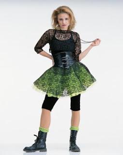 vestidos anos 80