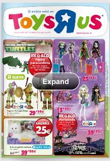 Catalogo juguetes toysrus 4-2013