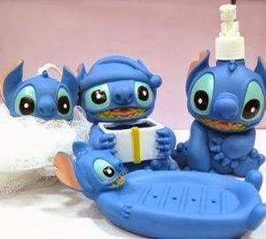 Lilo and Stitch bath set