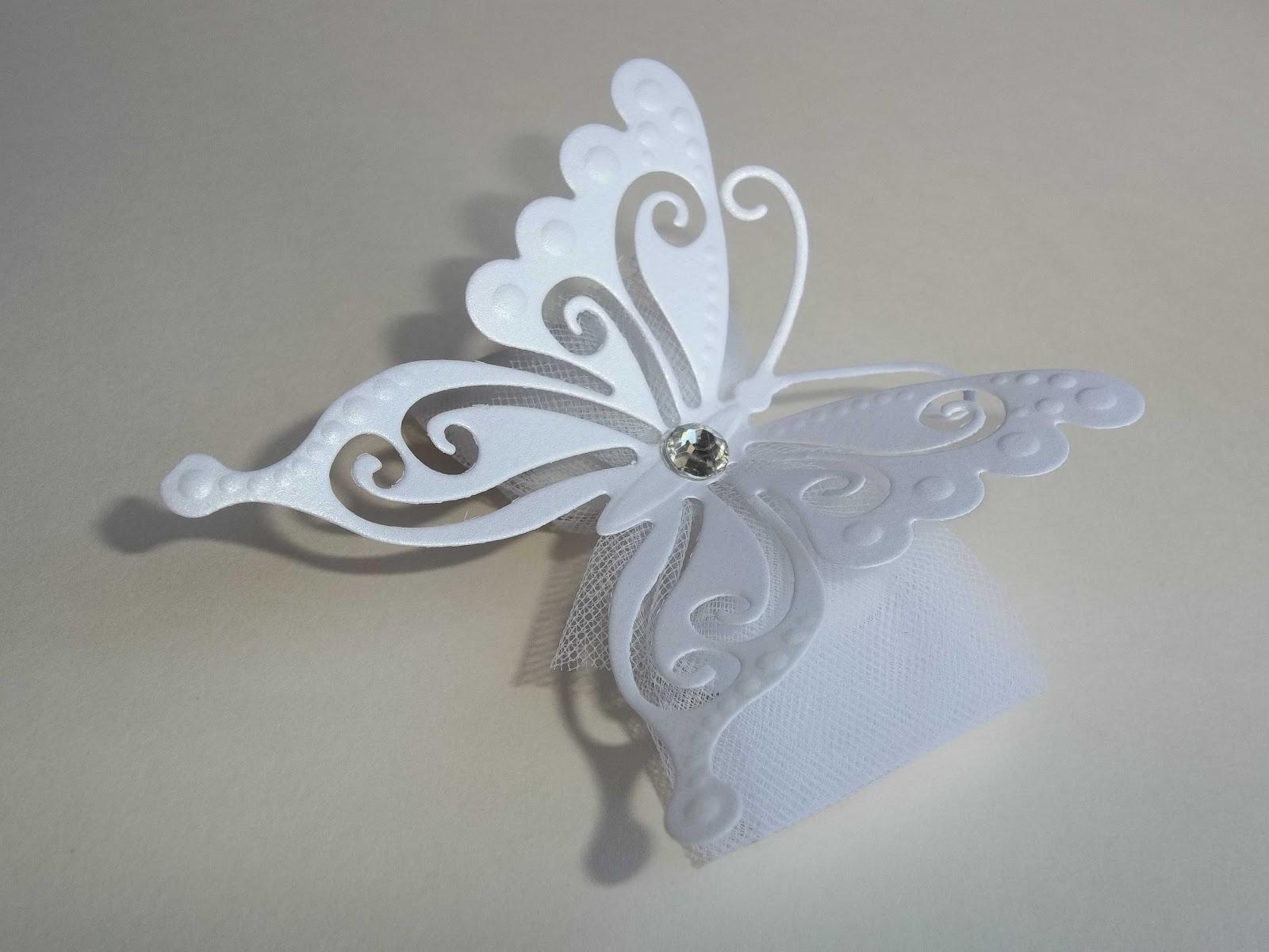 Famoso Sara Crea: Segnaposto farfalla, portaconfetti farfalla per  SA63