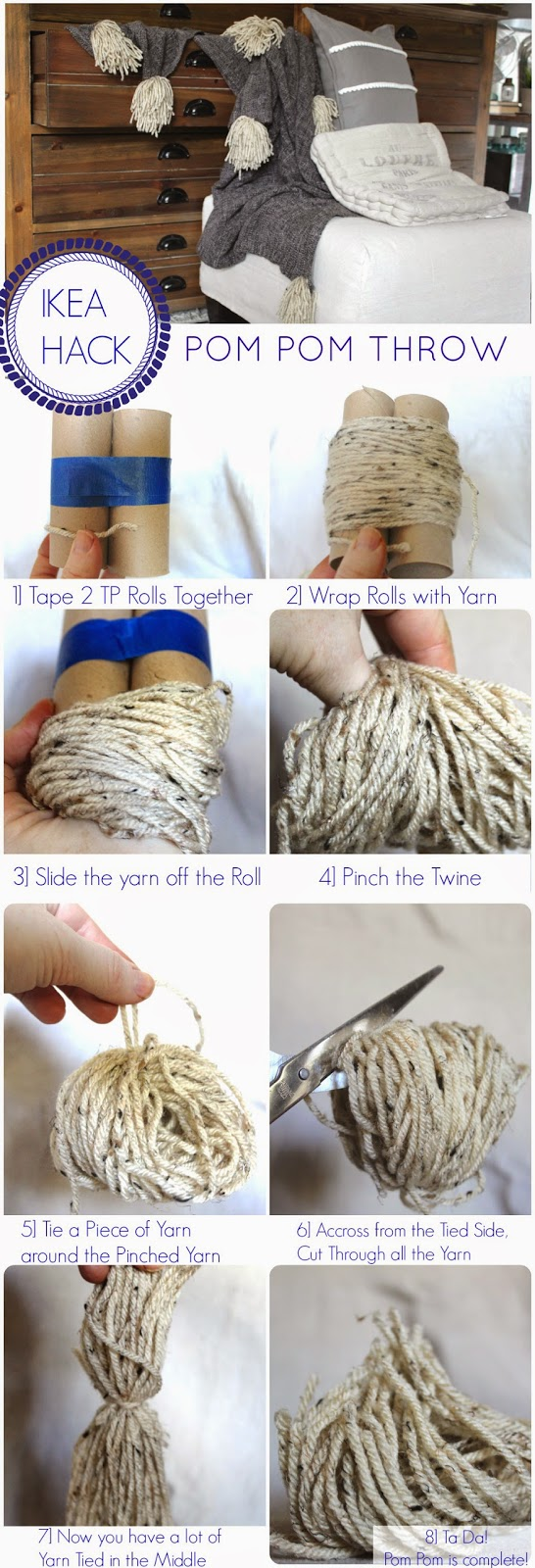 How to- Create Pom Poms