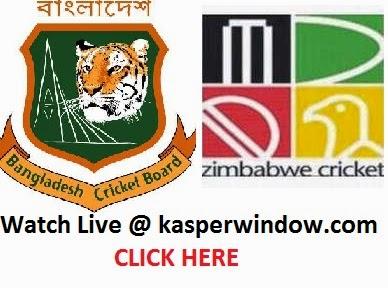 Bangladesh VS Zimbabwe Watch Live