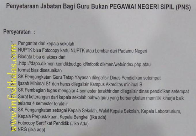 Resmi Kemdikbud Syarat Dan Ketentuan Penyetaraan Jabatan Guru Bukan Pns Inpassing Info Dikdas