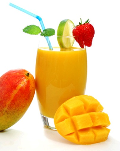 The Bestest Recipes Online: Mango Peach Smoothie