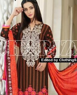 Embroidered Eid Dresses
