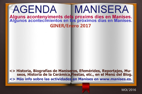 AGENDA MANISERA, GINER 2017