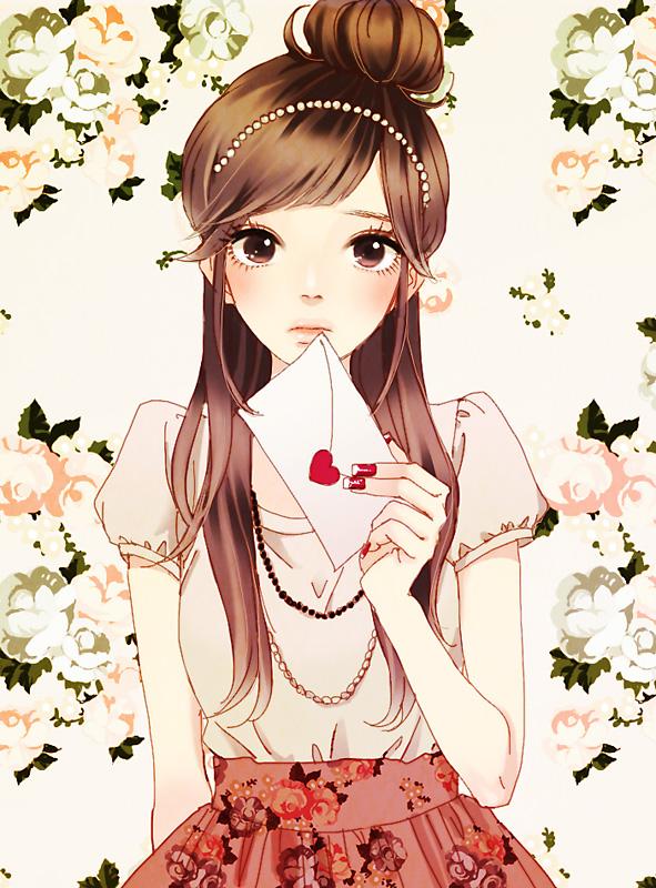 Hmmmm Anime Korea Yang Saya Dapat Ini Imut Dan Cantik