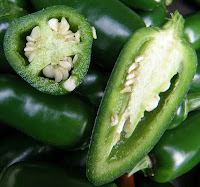 Jalapeno with seeds