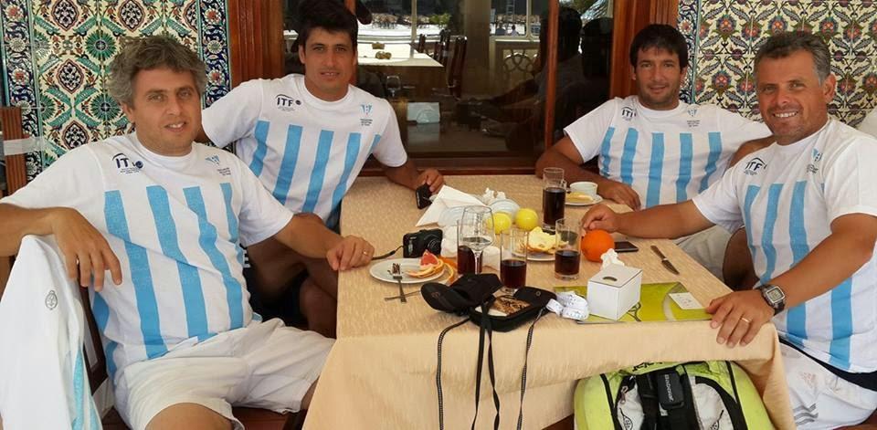 MUNDIAL ITF SENIORS ANTALYA TURQUIA - FIN PARA LOS ARGENTINOS