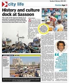 In The News - DraftCraft Heritage Walks 'Tours Of Cause' featured in The Asian Age
