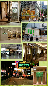 Some Rolex AD Shops in HK