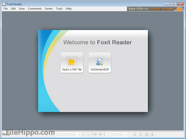 Free Download Foxit Reader 5.4.5.0114 Terbaru 2013