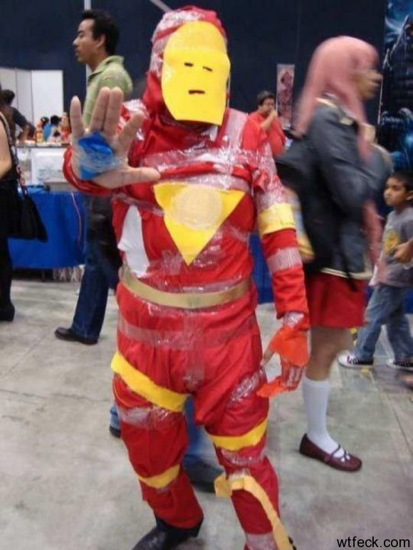 A BAD Iron Man Cosplay
