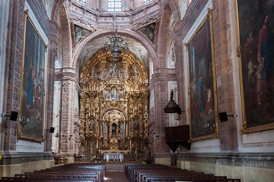 Paty aranda photography templo de la valenciana en guanajuato - Hierros san cayetano ...