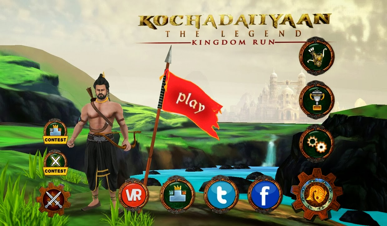 Kochadaiiyaan film andriod game Kingdom Run review and download free.
