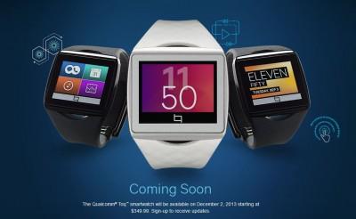 2 Desember, Qualcomm Siap Luncurkan Smartwatch Toq