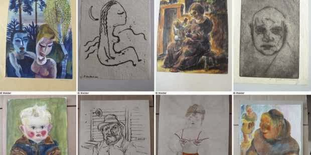 A selection of artworks published on German government website