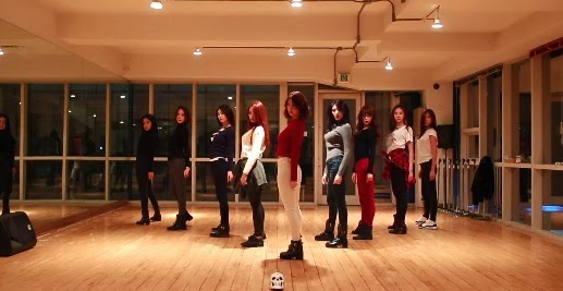 9Muses reveal the dance practice video of their latest hit song