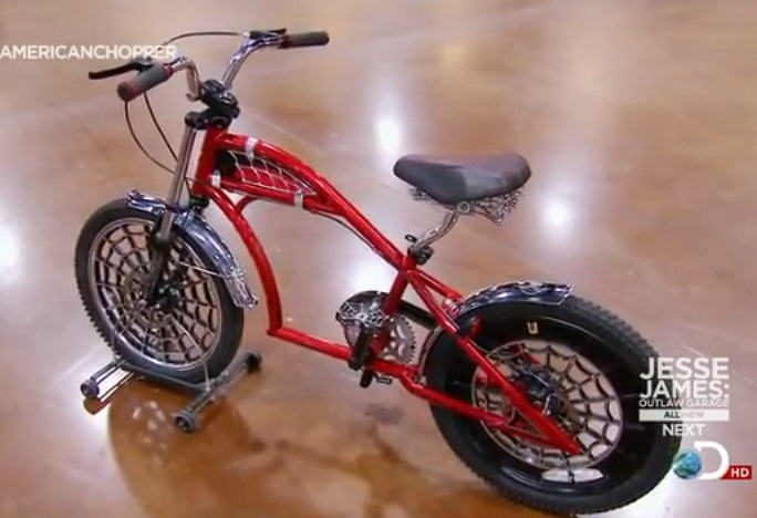 American Chopper And More Go Ride A Quot Chopperesque Pjd Quot Bike