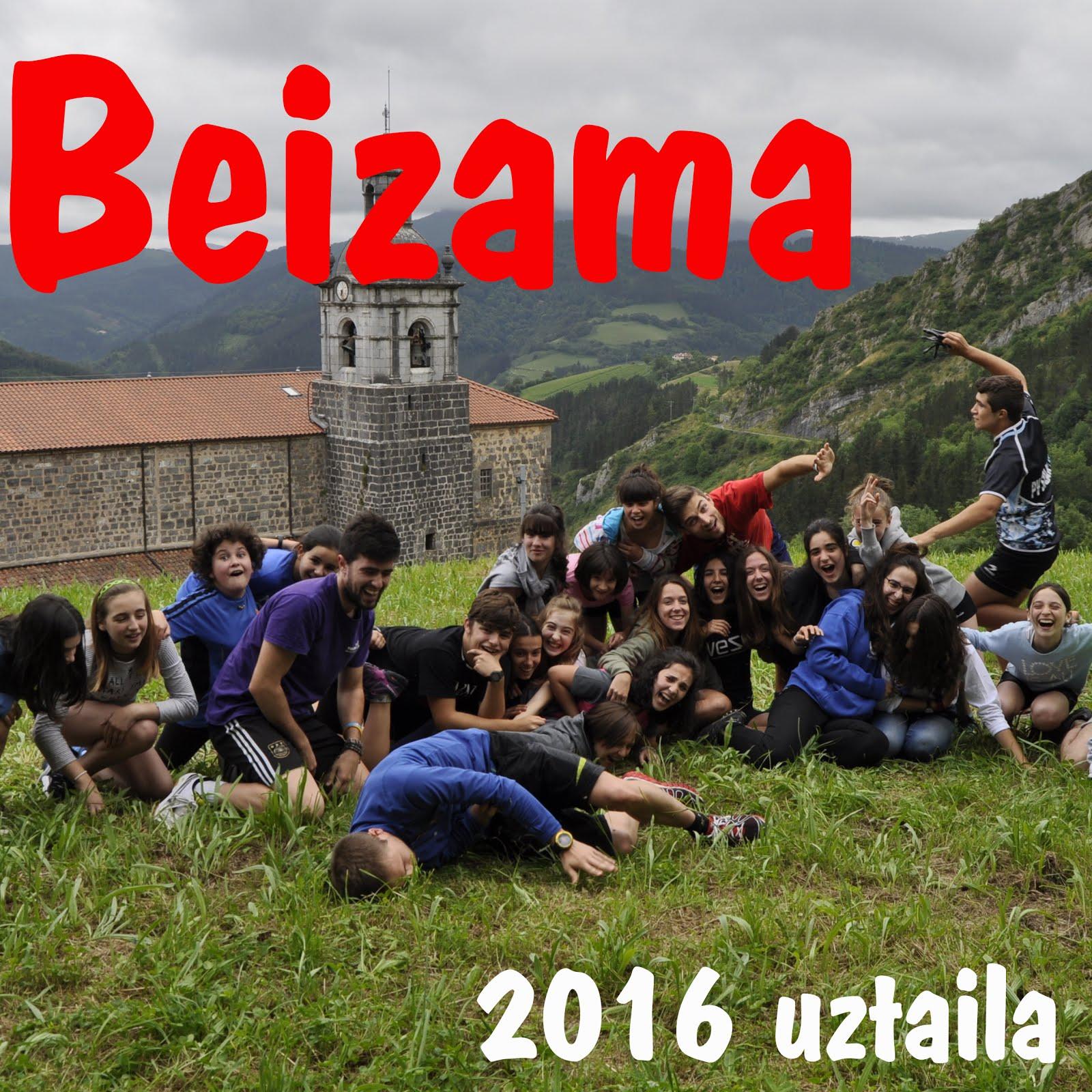 Beizama, 2016 uztaila