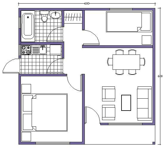 Casas prefabricadas buin en chile casas prefabricadas for Apartamentos de 30 metros cuadrados