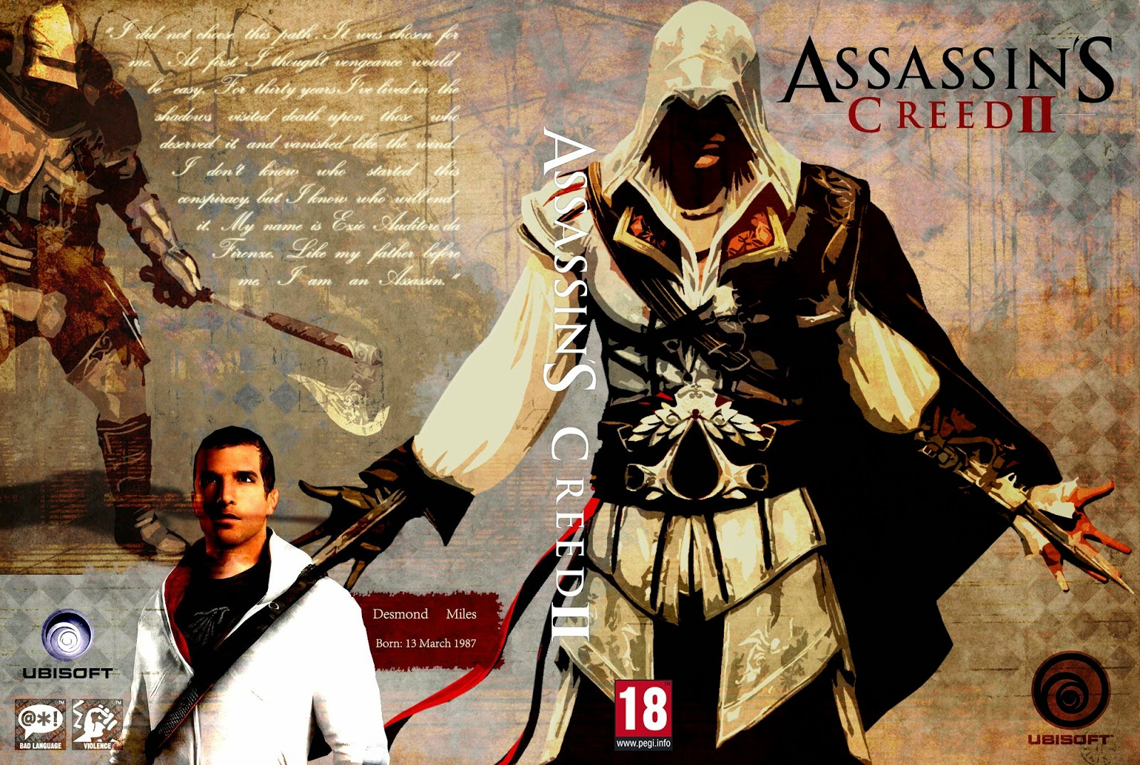 Capa Assassins Creed II PC