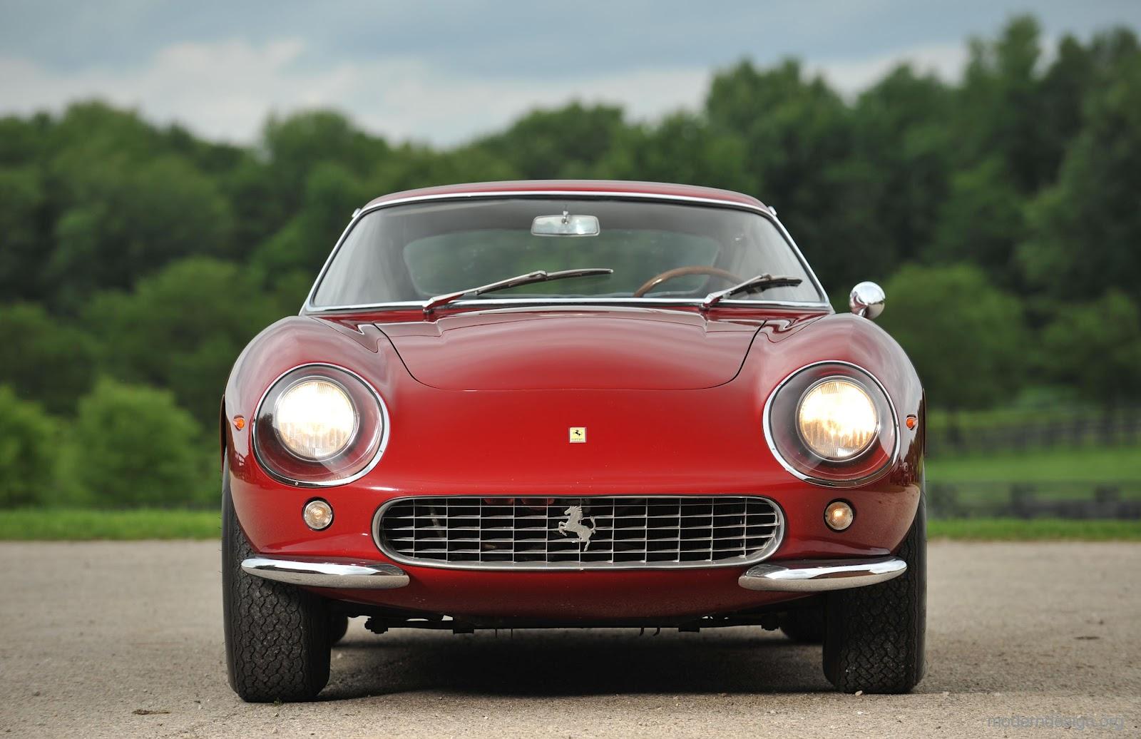 Ferrari 275 gtb berlinetta from 1965 modern design by anatomy of a classic vanachro Images