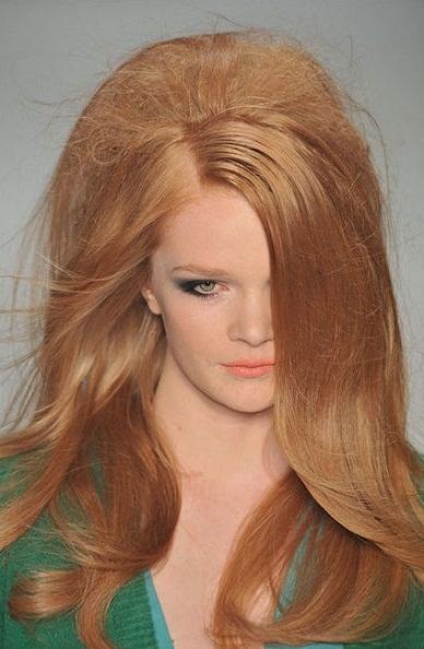 Peinados Melenas Con Cardados Tendencias Y Moda Trucos De Mujer - Peinados-de-melenas
