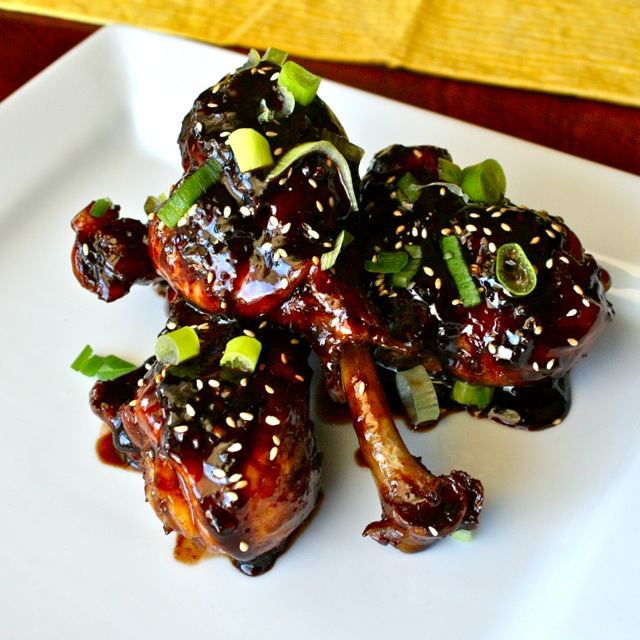 See Brooke Cook: Asian Glazed Drumsticks