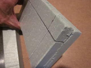 Cutting Base for Warhammer 40k Terrain Project
