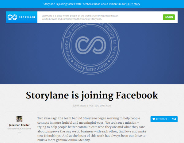 Storylane and Facebook
