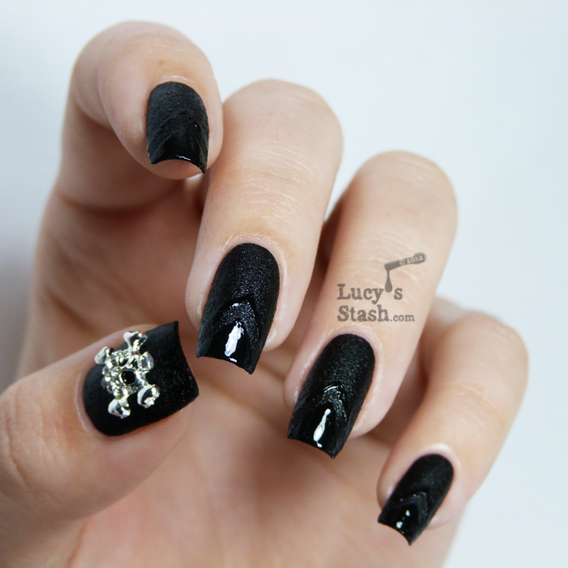 Lucy's Stash - Nails Inc. Leather &amp; Skulls 