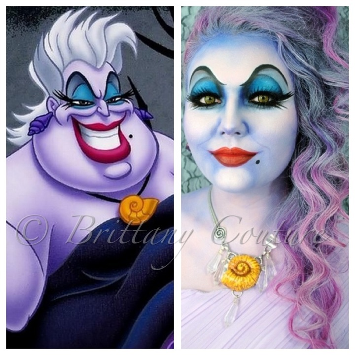 Brittany Couture: Ursula - Little Girl Halloween Makeup