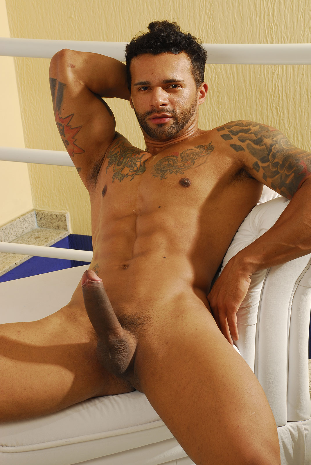 Naked Guy Hard And Soft