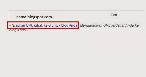 Cara membuat blog menjadi custom domain